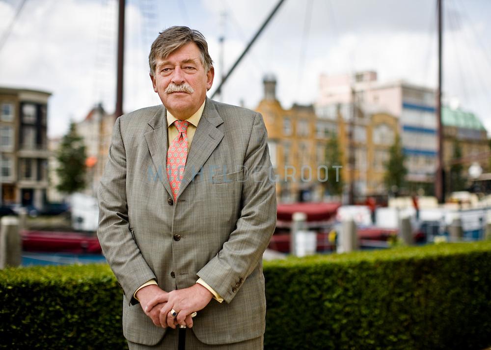 Hans Ten Cate, scheidend bestuursvoorzitter Rabobank op June 11, 2008 in Rotterdam, The Netherlands.  {photo by Michel de Groot)