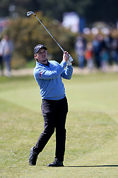 Eddie Pepperell during day four of the Betfred British Masters at Hillside Golf Club, Southport.