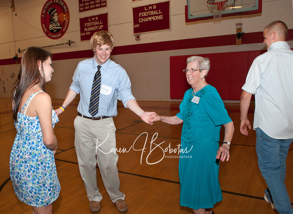Laconia High School Senior Senior Dance co sponsored by Laconia Parks and Recreation and Laconia Rotary Club.  (Karen Bobotas/for the Laconia Daily Sun)