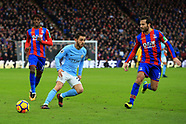 Palace v Man City - 31 Dec 2017