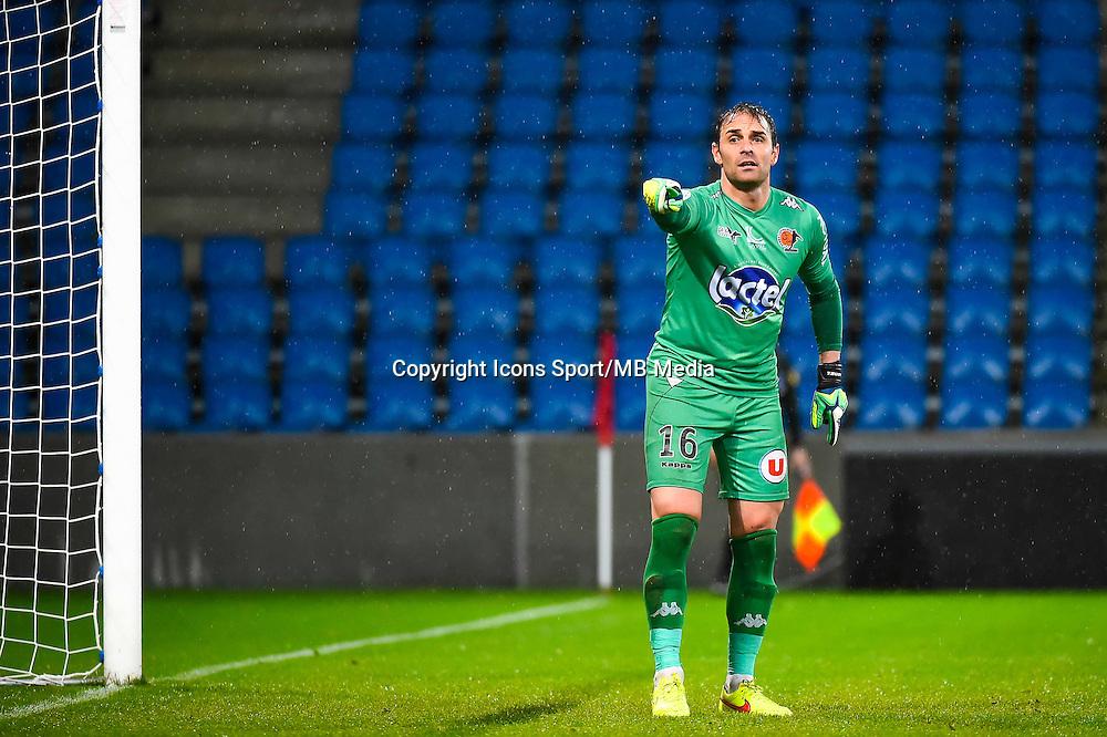 Lionel CAPPONE  - 12.12.2014 - Le Havre / Laval - 17eme journee de Ligue 2 <br /> Photo : Fred Porcu / Icon Sport