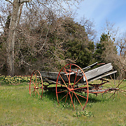 Abandoned Wagon - Oak Glen, CA