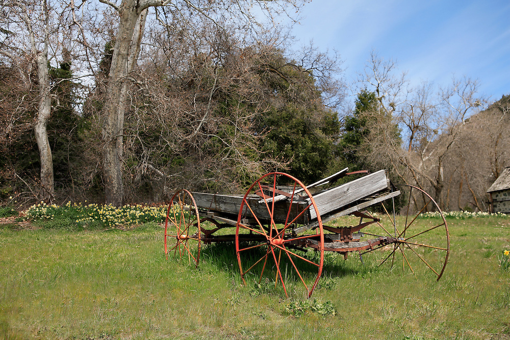 Abandoned Wagon - Oak Glen, CA