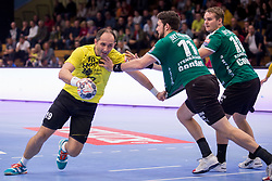 Alem Toksic of RK Gorenje Velenje during handball match between RK Gorenje Velenje and Skjern Handbold in Group Phase C+D of VELUX EHF Champions League, on 1st October, 2017 in Rdeca dvorana, Velenje, Slovenia. Photo by Urban Urbanc / Sportida