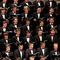 National Youth Choir of Scotland - Pictured  during performance at their 15th Anniversary Gala Concert at the Usher Hall, Edinburgh (Sunday 25th September 2011), performing William Walton's Belshazzar's Feast..Picture  © Drew Farrell..The highlight of the celebrations marking 15 years of The National Youth Choir of Scotland conducted by NYCoS Artistic Director, Christopher Bell, and joined by the Royal Scottish National Orchestra, the choir of 180 past and present members delivered a compelling performance...www.drewfarrell.com    Tel :  07721-735041.If you require any more information please contact Vicky Tibbett @The National Youth Choir of Scotland Tel : 0141 287 2856 . Note to Editors:  This image is free to be used editorially in the promotion of The National Youth Choir of Scotland. Without prejudice ALL other licences without prior consent will be deemed a breach of copyright under the 1988. Copyright Design and Patents Act and will be subject to payment or legal action, where appropriate..