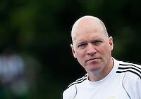 UTRECHT - Markus Weise van Duitsland ,zaterdag tijdens de  hockey interland tussen de mannen van Nederland en Duitsland (4-2). COPYRIGHT KOEN SUYK