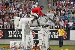 Deusser Daniel, (GER), Cornet D Amour<br /> Individual Final Competition<br /> FEI European Championships - Aachen 2015<br /> © Hippo Foto - Dirk Caremans<br /> 23/08/15