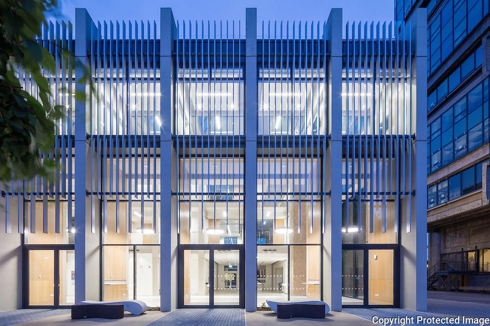 The Alan Walters Building, University of Birmingham Business School. Built 2016. Architect: Berman Guedes Stretton.