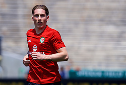 LOS ANGELES, USA - Sunday, May 27, 2018: Wales' Harry Wilson during a training session at the Rose Bowl ahead of the International friendly match against Mexico. (Pic by David Rawcliffe/Propaganda)