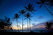 Sunrise, Kapaa Beach Park, Kauai, Hawaii