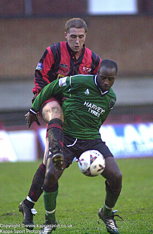 CHRIS PERKINS, KETTERING TOWN, Kettering Town v Northwich Victoria, Rockingham Road, 11th November 2000