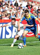 Auckland-Football, Under 20 World Cup, New Zealand v Ukraine