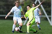 01.04.2017; Zuerich; Fussball Junioren - FCZ Uetliberg FE-14 - FCO Thurgau - Pablo Vonder Muehil (Zuerich)<br /> (Steffen Schmidt/freshfocus)