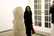 BIANCA JAGGER, Rebecca Warren exhibition opening at the Serpentine Gallery. London.  9 March  2009