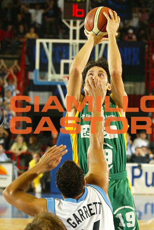 DESCRIZIONE : NAPOLI CAMPIONATO ITALIANO LEGA A1 STAGIONE 2004-2005 GIOCATORE : BONI SQUADRA : SICC JESI DATA : 2010-01-06CATEGORIA : SPORT :  AUTORE : AGENZIA CIAMILLO & CASTORIA/G.Ciamillo