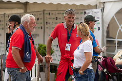 Hasenböhler Peter, SUI, Nicholson Andrew, SUI<br /> European Championship Eventing<br /> Luhmuhlen 2019<br /> © Hippo Foto - Dirk Caremans