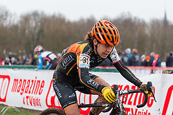Crystal Anthony (USA), Women, Cyclo-cross World Cup Hoogerheide, The Netherlands, 25 January 2015, Photo by Pim Nijland / PelotonPhotos.com