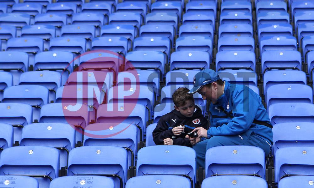 Reading fans inside the Madejski Stadium - Photo mandatory by-line: Robbie Stephenson/JMP - Mobile: 07966 386802 - 28/02/2015 - SPORT - Football - Reading - Madejski Stadium - Reading v Nottingham Forest - Sky Bet Championship