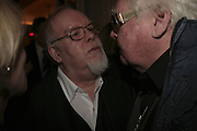 Sir Peter Blake and Ken Russell, The South Bank Show Awards, Savoy Hotel. London. 23 January 2007.  -DO NOT ARCHIVE-© Copyright Photograph by Dafydd Jones. 248 Clapham Rd. London SW9 0PZ. Tel 0207 820 0771. www.dafjones.com.