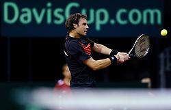 12-09-2014 NED: Davis Cup Nederland - Kroatie, Amsterdam<br /> Mate Delic