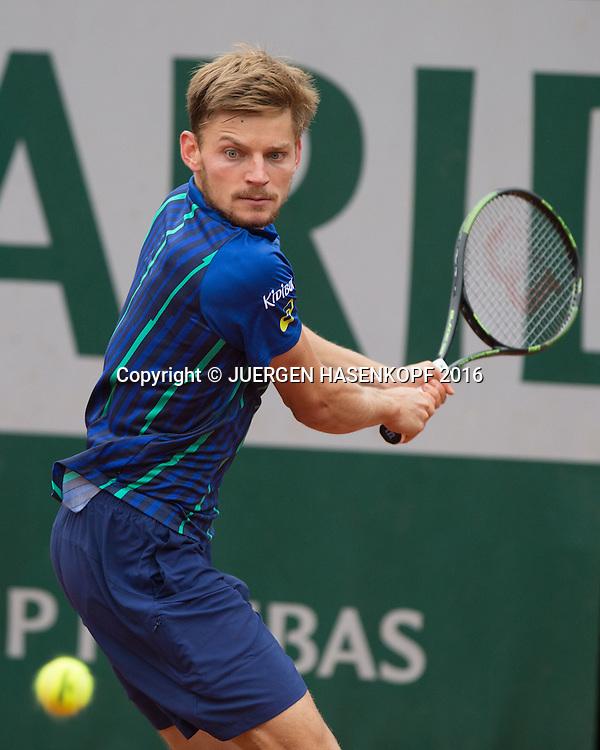David Goffin (BEL)<br /> <br /> Tennis - French Open 2016 - Grand Slam ITF / ATP / WTA -  Roland Garros - Paris -  - France  - 2 June 2016.