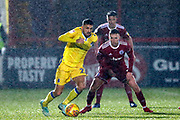 Bristol Rovers midfielder Liam Sercombe (7) in action  during the EFL Sky Bet League 1 match between Accrington Stanley and Bristol Rovers at the Fraser Eagle Stadium, Accrington, England on 12 January 2019.