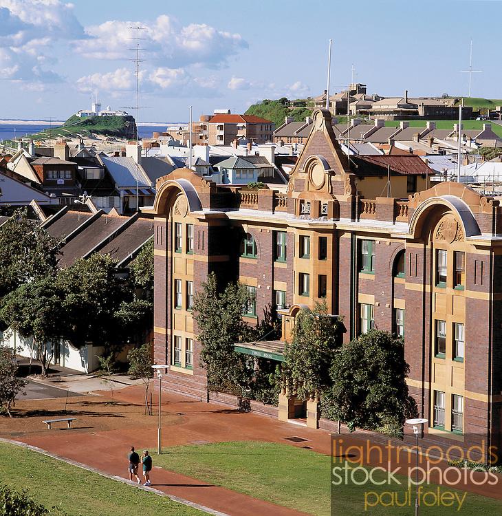 Historic East End of Newcastle, Australia,