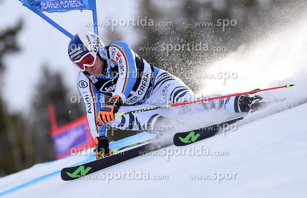 06.12.2015, Birds of Prey Course, Beaver Creek, USA, FIS Weltcup Ski Alpin, Beaver Creek, Riesenslalom, Herren, 1. Lauf, im Bild Fritz Dopfer (GER) // Fritz Dopfer of Germany during the first run of mens Giant Slalom of the Beaver Creek FIS Ski Alpine World Cup at the Birds of Prey Course in Beaver Creek, United States on 2015/12/06. EXPA Pictures © 2015, PhotoCredit: EXPA/ Erich Spiess