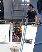 24.AUGUST.2012. CALVI<br /> <br /> ERIC CANTONA ON HOLIDAY IN CORSICA WITH HIS FAMILY <br /> <br /> BYLINE: EDBIMAGEARCHIVE.CO.UK<br /> <br /> *THIS IMAGE IS STRICTLY FOR UK NEWSPAPERS AND MAGAZINES ONLY*<br /> *FOR WORLD WIDE SALES AND WEB USE PLEASE CONTACT EDBIMAGEARCHIVE - 0208 954 5968*