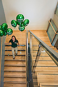 Photographs of the Ohio University Residential Housing Phase 1 opening ceremony and ribbon cutting event on Saturday, August 29, 2015 at the Living Learning Center on the Ohio University campus in Athens, Ohio.