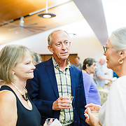 Images from a board meeting and lecture at the Friends of Charlestowne Landing at Founders Hall in Charlestowne Landing in Charleston, South Carolina.