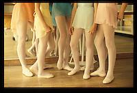 Children's ballet class, Paris- Photograph by Owen Franken