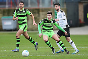 Forest Green Rovers Charlie Cooper(20) runs forward during the Vanarama National League match between Gateshead and Forest Green Rovers at Gateshead International Stadium, Gateshead, United Kingdom on 18 February 2017. Photo by Shane Healey.