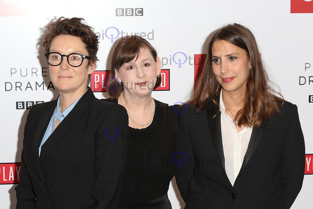 Producer Susie Ligatt, writer Heidi Thomas, director Vanessa Caswill, Little Women - Special Q&A Screening, The Soho Hotel, London UK, 11 December 2017, Photo by Richard Goldschmidt