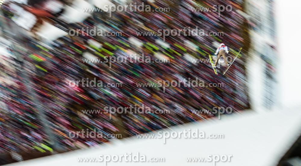 06.01.2016, Paul Ausserleitner Schanze, Bischofshofen, AUT, FIS Weltcup Ski Sprung, Vierschanzentournee, Bischofshofen, Probedurchgang, im Bild Severin Freund (GER) // Severin Freund of Germany during his trial jump of the Four Hills Tournament of FIS Ski Jumping World Cup at the Paul Ausserleitner Schanze in Bischofshofen, Austria on 2016/01/06. EXPA Pictures © 2016, PhotoCredit: EXPA/ JFK