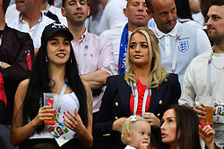 Meghan Davison Goalkeeper Jordan Pickford's girlfriend during the 2018 FIFA World Cup Russia Semi Final match between England and Croatia at Luzhniki Stadium on July 11, 2018 in Moscow, Russia. Photo by Christian Liewig/ABACAPRESS.COM