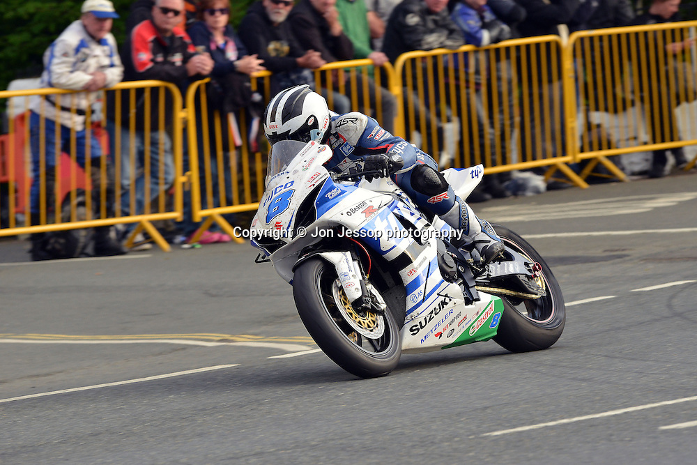 #8 William Dunlop Suzuki Tyco Suzuki