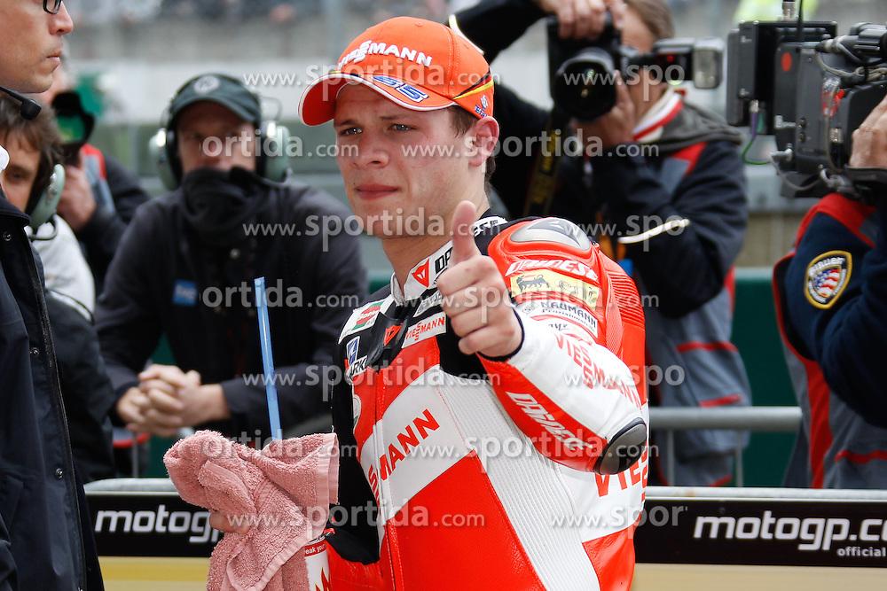 15.05.2011, Le Mans, FRA, MotoGP, Motomondiale Le Mans, im Bild Stefan Bradl - Viessmann Kiefer racing team .EXPA Pictures © 2011, PhotoCredit: EXPA/ InsideFoto/ Semedia +++++ ATTENTION - FOR AUSTRIA/AUT, SLOVENIA/SLO, SERBIA/SRB an CROATIA/CRO CLIENT ONLY +++++