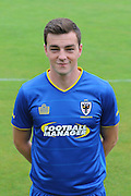 AFC Wimbledon defender Sean Kelly at AFC Wimbledon Team Photo 02AUG16 at the Cherry Red Records Stadium, Kingston, England on 2 August 2016. Photo by Stuart Butcher.