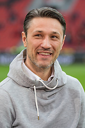 16.04.2016, BayArena, Leverkusen, GER, 1. FBL, Bayer 04 Leverkusen vs Eintracht Frankfurt, 30. Runde, im Bild Trainer Niko Kovac (Eintracht Frankfurt) // during the German Bundesliga 30th round match between Bayer 04 Leverkusen and Eintracht Frankfurt at the BayArena in Leverkusen, Germany on 2016/04/16. EXPA Pictures © 2016, PhotoCredit: EXPA/ Eibner-Pressefoto/ Schueler - Pressefoto<br /> <br /> *****ATTENTION - OUT of GER*****