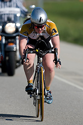 United States Military Academy competes in the Women's Division II team time trial.<br /> <br /> The 2007 USA Cycling Collegiate Road Championship team time trial were held in Lawrence, Kansas on May 11, 2007.