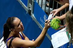Jelena Jankovic of Serbia at 1st Round of Singles at Banka Koper Slovenia Open WTA Tour tennis tournament, on July 20, 2010 in Portoroz / Portorose, Slovenia. (Photo by Vid Ponikvar / Sportida)