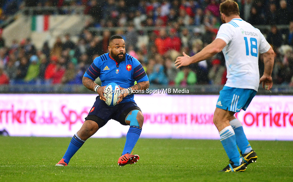 Mathieu BASTAREAUD - 15.03.2015 - Rugby - Italie / France - Tournoi des VI Nations -Rome<br /> Photo : David Winter / Icon Sport