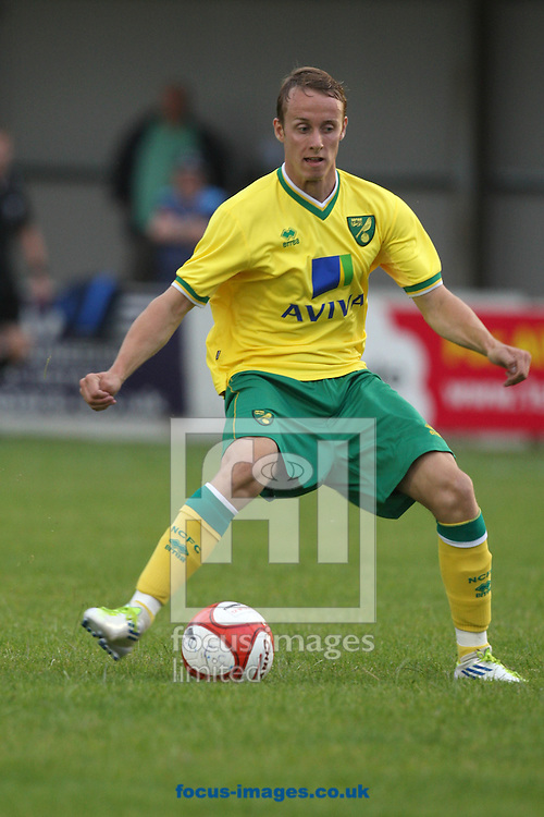 Josh Dawkin of Norwich in action during a pre season friendly at New Lodge Stadium, Billericay...Picture by Paul Chesterton/Focus Images Ltd.  07904 640267.4/8/11