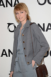 Edie Campbell attends Oceana's Junior Ocean Council - Fashions For the Future at Phillips Auction House, Berkeley Square, London on Thursday 19 March 2015