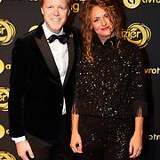 NLD/Amsterdam/20181011 - Televizier Gala 2018, Lex Uiting en partner