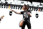 Alter Bridge performing at Carolina Rebellion at Metrolina Expo in Charlotte, NC on May 7, 2011