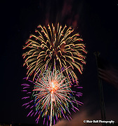 Fireworks 4th of July outside of Tulsa Oklahoma.