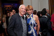 Bob Packer; Joanna Packer, Piccadilly theatre's Ghost The Musical Opening night party. Corinthia Hotel. Whitehall Place. London. 19 July 2011. <br /> <br />  , -DO NOT ARCHIVE-© Copyright Photograph by Dafydd Jones. 248 Clapham Rd. London SW9 0PZ. Tel 0207 820 0771. www.dafjones.com.