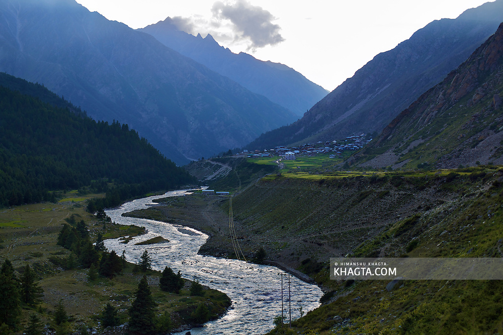 Chitkul, situated on the banks of river Baspa, is the last village on the old hindustan tibet road and the last point where you can travel without permit.<br /> <br /> Of particular interest at Chitkul are its houses with either slate or wooden plank roofs, a Buddhist temple and a small tower.